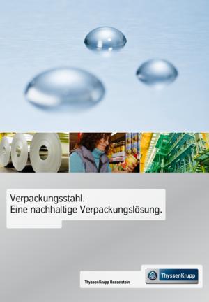 Broschüre Verpackungsstahl
